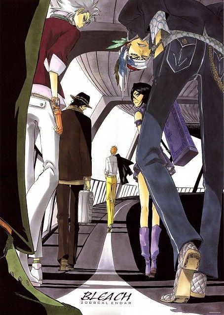 Bleach (Rukia Kuchiki, Ichigo Kurosaki, Renji Abarai, Toshiro Hitsugaya, Yasutora Sado) - Minitokyo