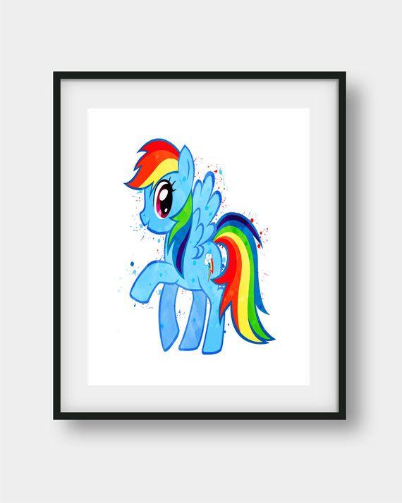 My Little Pony My Little Pony Print My Little Pony Poster