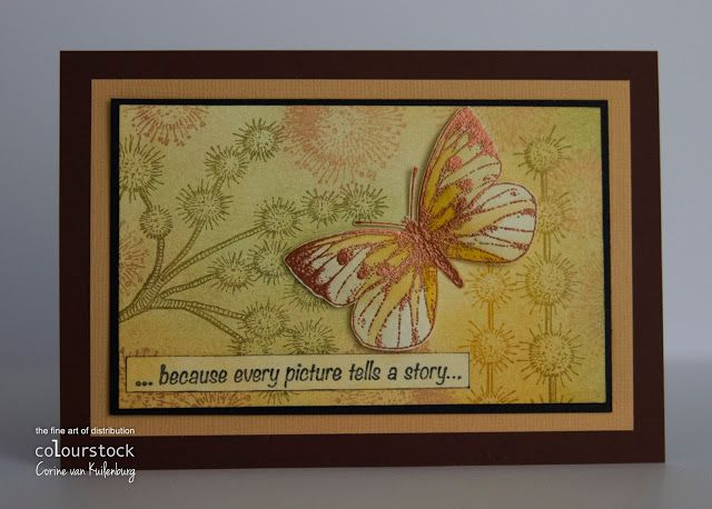 Corine's Art Gallery: White Butterfly and Prickles
