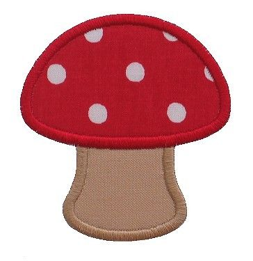 This sweet and simple mushroom applique includes three sizes – 2 inch, 3 inch, and 4 inch.  A version with filled spots is included so you d...