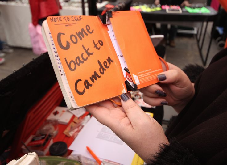 This was a great trader that kept reminding herself to always come back to Camden Lock  the best place to be, whether you are selling or buying.