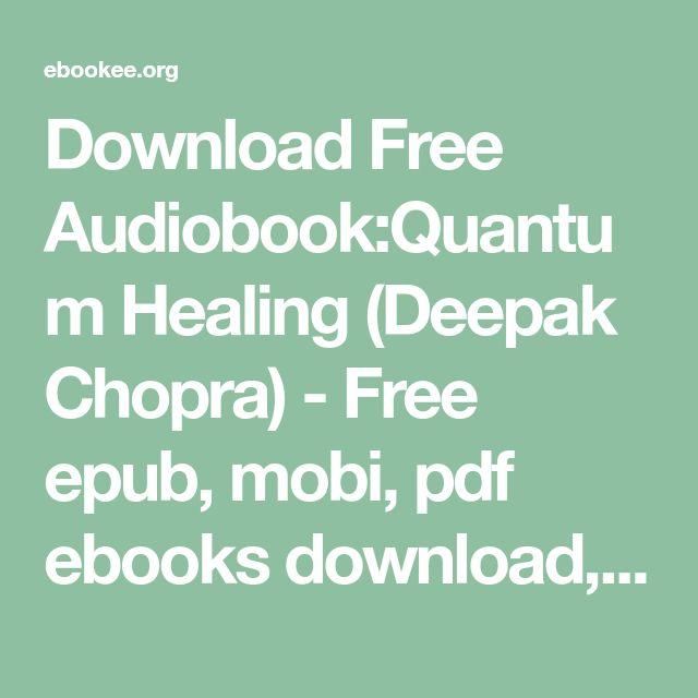 Deepak chopra audio