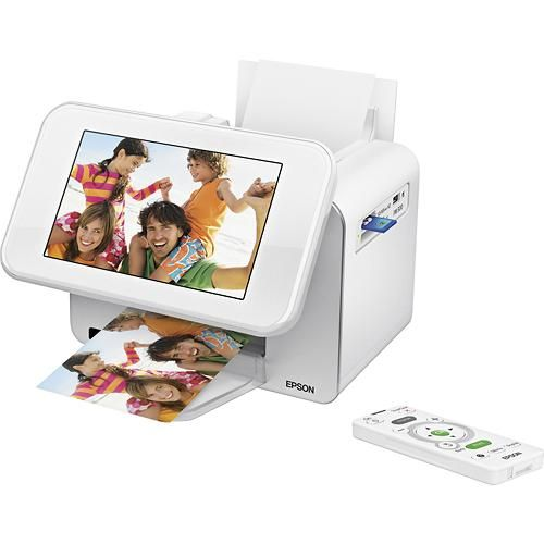 Epson - PictureMate Show Photo Printer and Digital Photo Frame