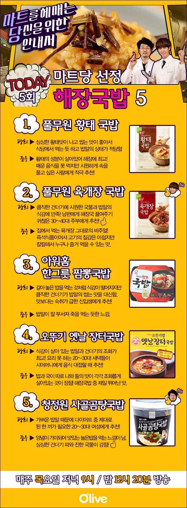 마트당 해장국밥
