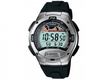 47a19781712 Relógio de Pulso Masculino Social Digital - Cronômetro Bússola Fases da Lua Casio  W 753 1AVDF