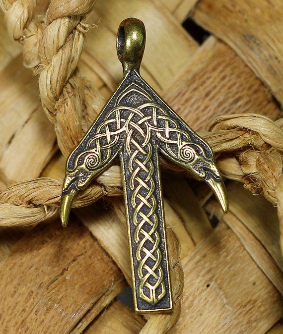 TIWAZ / TYR Rune Viking Amulet Pendant Nordic Talisman ... | 570 x 674 jpeg 90kB