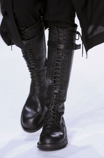 Ann Demeulemeester Fall 2013 - Details... I don't know why any woman would need these for any reason.