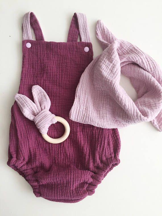 Romper muslin rompers | Life of Kids | Pinterest | Baby knitting ...
