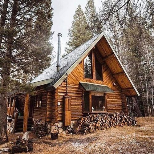 19 Log Cabin Home Décor Ideas: Best 25+ Log Cabin Exterior Ideas On Pinterest