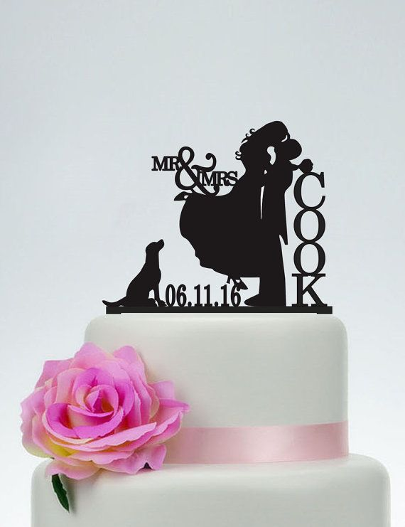how to make cake toppers with silhouette cameo