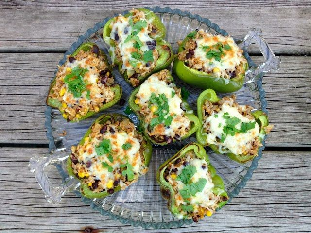 Southwest Stuffed Peppers | The Haas Machine
