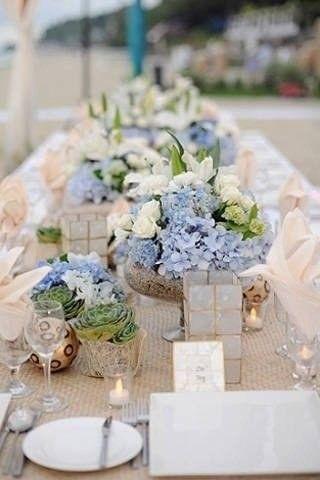 Свадьба в спокойных оттенках небесного голубого цвета    #wedding #bride #flowers