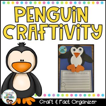 Penguin CraftIf your students are learning about PENGUINS, you must incorporate this cute little craft into your unit!Along with the penguin craft template, it includes graphic organisers for penguin facts and a penguin labelled diagram activity.I hope your class enjoy making and learning about penguins as much as mine did! :)*****************************************************************All new products (excluding bundles) are 20% off for the first 48 hours so be sure to be following my…