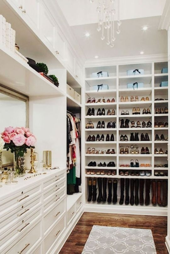 The dream home everybody wants: The ideal wardrobe for the shoe-obsessed.