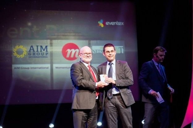 Aim Group International, 1 runner-up as Best Event Agency 2015 - This is an important recognition of what we do for our clients and the innovative way we provide them with relevant PCO, DMC, event and meeting solutions for growing their business