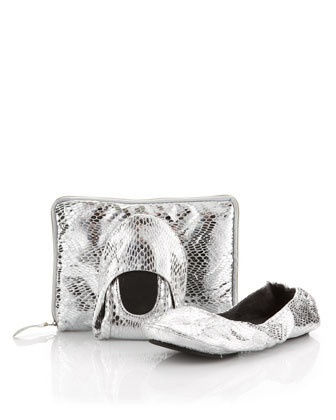 Mes Ballerinettes®SNAKE SILVER limited edition