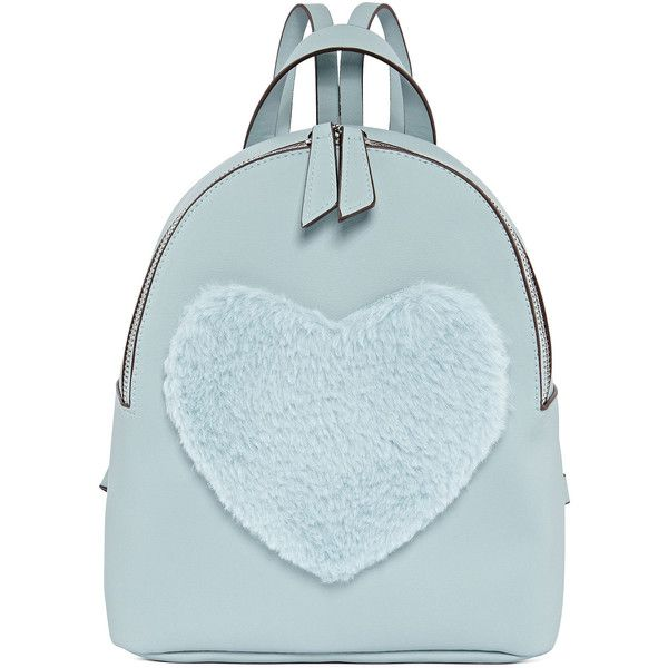 Jt Heart Backpack ($35) ❤ liked on Polyvore featuring bags, backpacks, rucksack bags, backpack bags, blue backpack, day pack backpack and knapsack bag