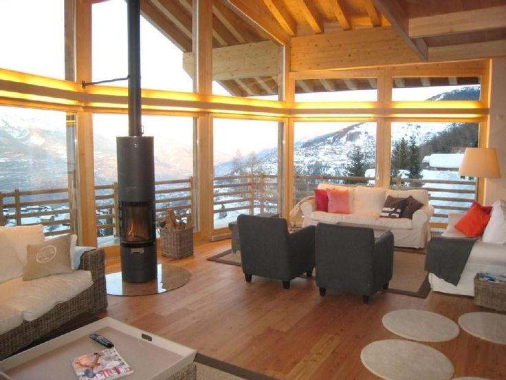 Haute-nendaz Chalet Rental: Spectacular Chalet (5*) In Nendaz With Unforgettable Views, 490m From Lift | HomeAway