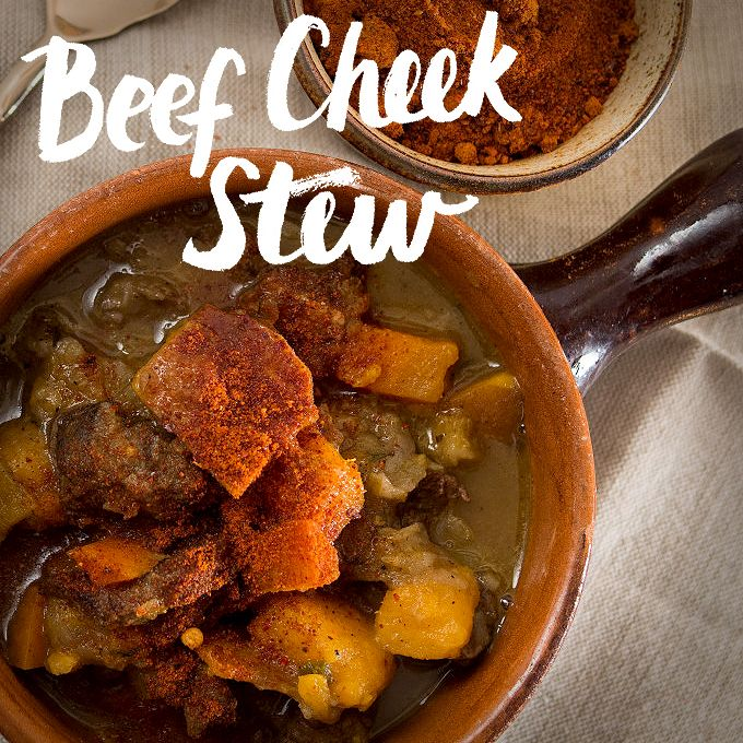 Beef Cheek Stew Recipe - great for dinner on these cold winter weekends!