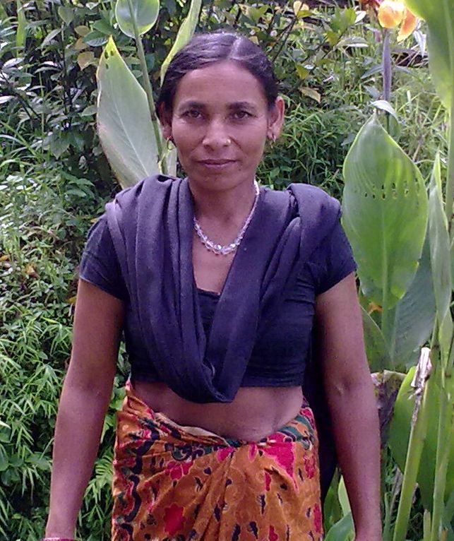 Gaukumari needs $75 to complete a loan so she can start raising pigs. She is the only breadwinner in her family as she was recently widowed, and has two sons.
