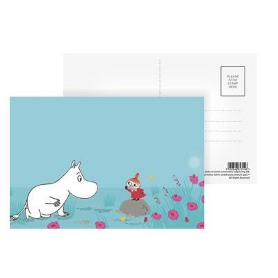 Moomin Postcard by Tove Jansson   on StarEditions.com - Wholesale Prints and Gifts