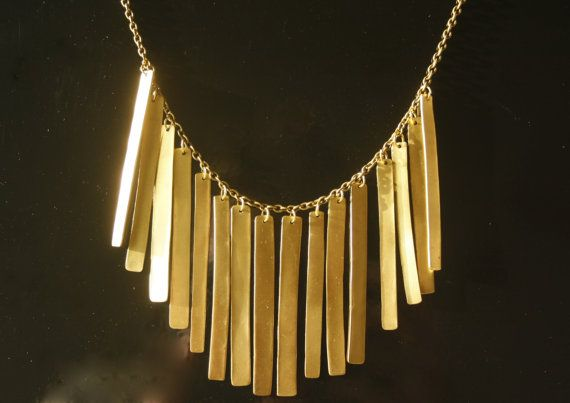 Vroxi necklace by Mesdames on Etsy, €25.00