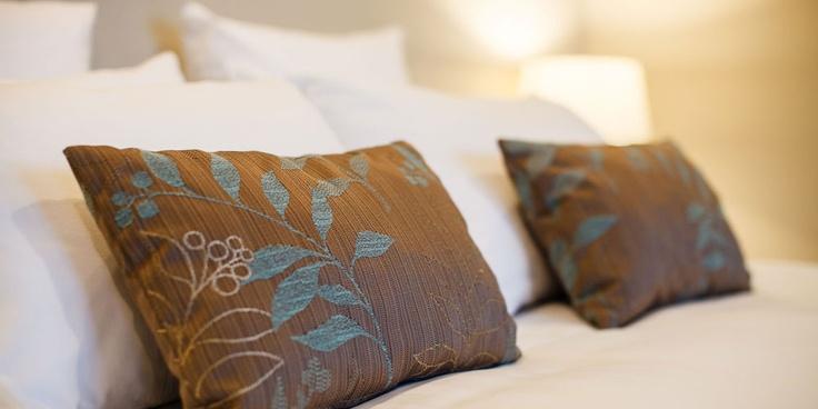 Bedroom detail at Vintners Retreat, Marlborough NZ