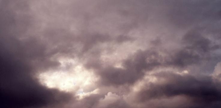 ... y pensar que un día nublado me da mas animo que un día de sol ...
