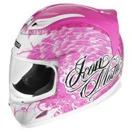 Safe and Sexy Motorcycle Gear for Women. Pin Helmet
