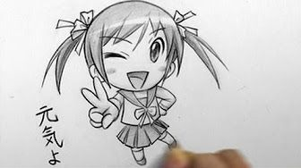 How to Draw a Chibi: Crying - YouTube