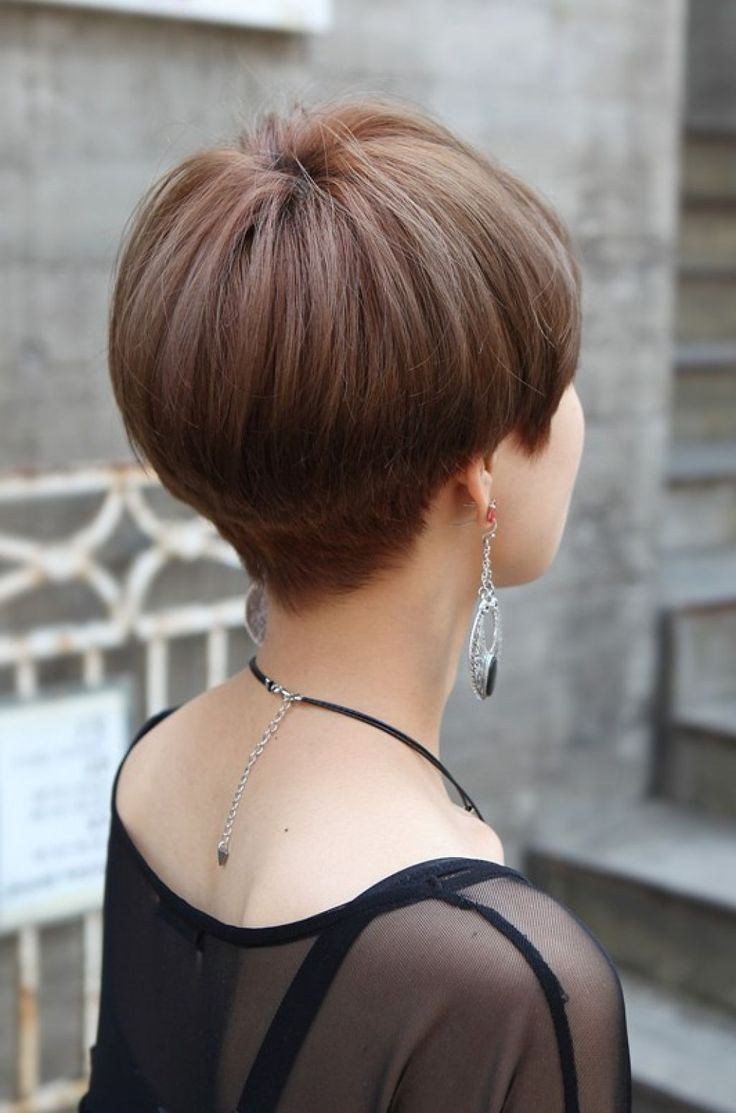 Related posts of back view of short wedge haircut