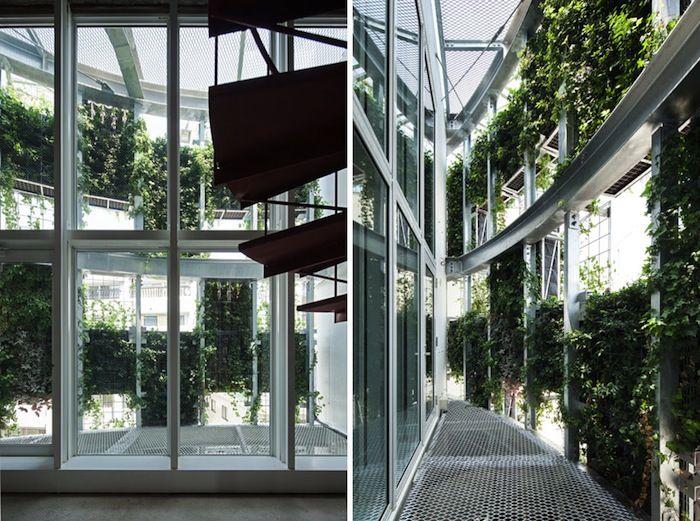 Edifício Vent Vert, Japão.  Arquiteto Edward Suzuki.