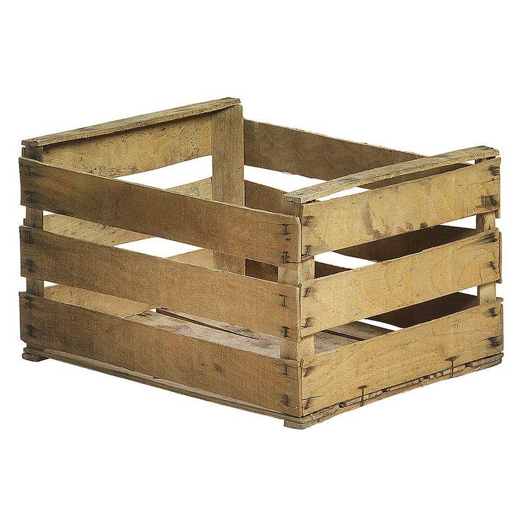 caja de madera frutera caja rustica decorativa caja antigua caja de madera vintage