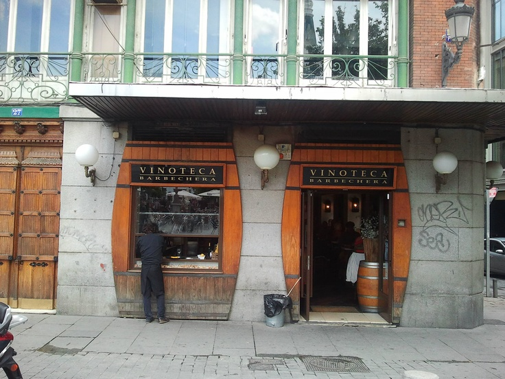 La Vinoteca. Barrio de Las Letras. Madrid, Spain.