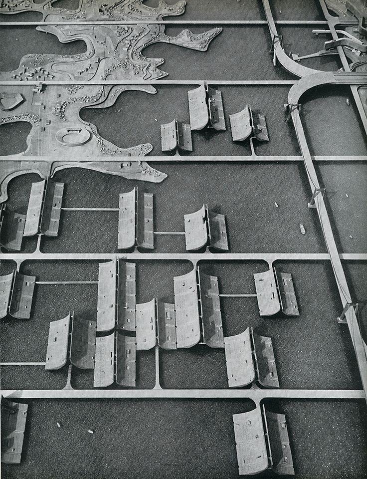 Kenzo Tange | Plan urbanistico para la bahía de Tokyo | Japón | 1960