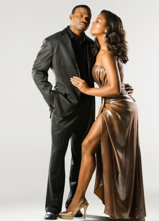 Laila Ali & husband. Follow us @SIGNATUREBRIDE on Twitter and on FACEBOOK @ SIGNATURE BRIDE MAGAZINE