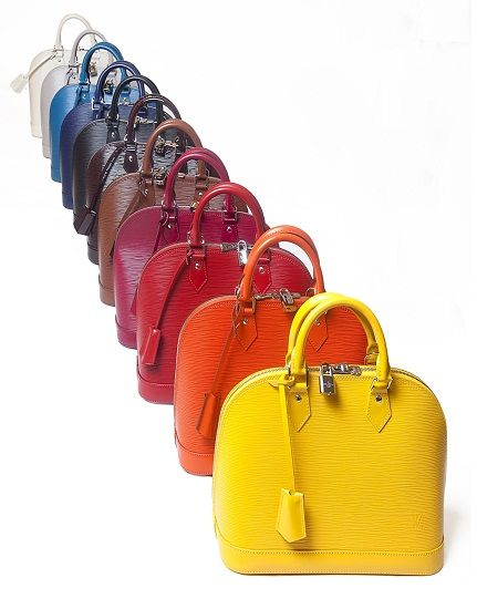 LOUIS VUITTON Alma Bag - My fav is the YELLOW!! Which one is yours?