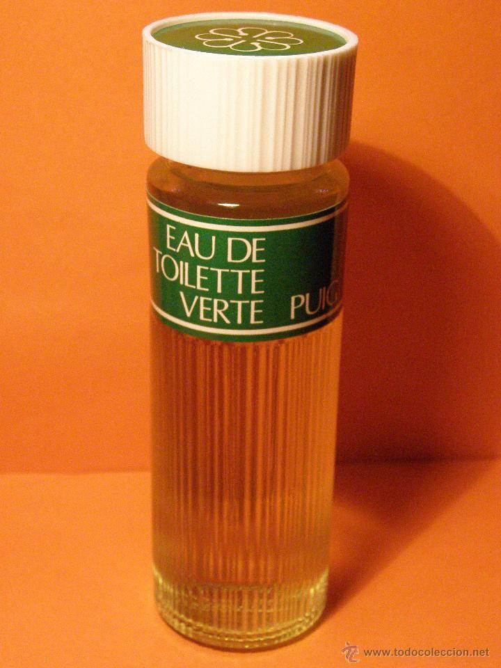 ANTIGUA COLONIA - VERTE DE PUIG - ENVASE ANTIGUO - SIN CAJA - COMPLETAMENTE LLENA - NUEVA - (Botellas, Cajas y Envases - Miniaturas de Perfumes.)