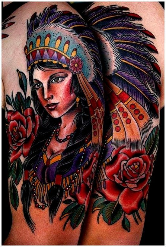 17 best images about tattoos on pinterest indian tattoos for Native american woman tattoo