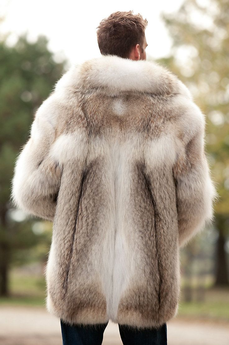 Our voluptuous coyote fur jacket begs to be worn everywhere. Fluffy, soft, and fabulously warm with rich tonal variations, the Zack keeps you cozy and coddled.