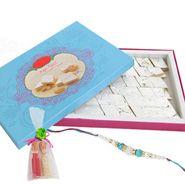 Yummy Kaju Katli and rakhi gifts to mumbai