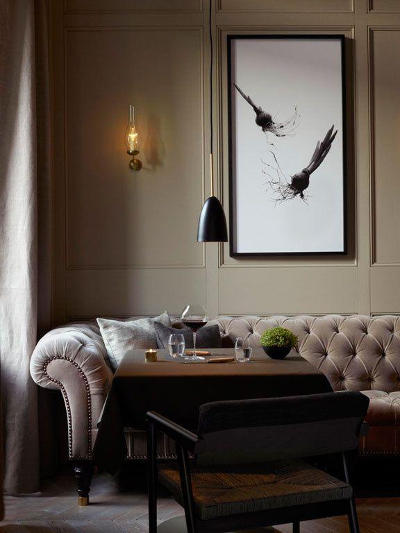 Le restaurant du Grand Hôtel