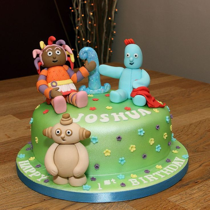 56 best in the night garden images on pinterest garden for In the night garden cakes designs