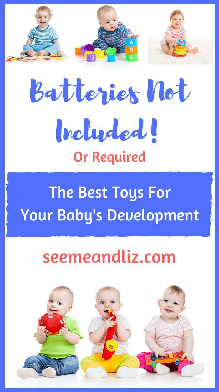 The Best Toys For Your Baby's Development - plus learn how to play with each toy to facilitate language development and learning!