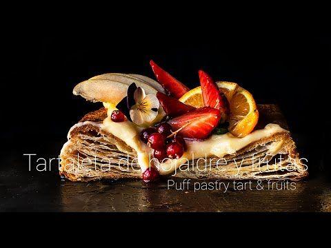 Tartaleta De Hojaldre Y Frutas Elaborado Con Hojaldre Sin Levadura Crema Pastelera Y Frutas De Temporada Paso A Paso Del Tartaletas Hojaldre Hacer Hojaldre