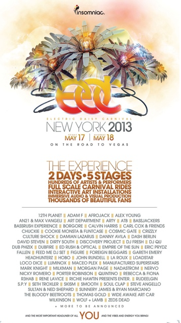 EDC tickets lineup