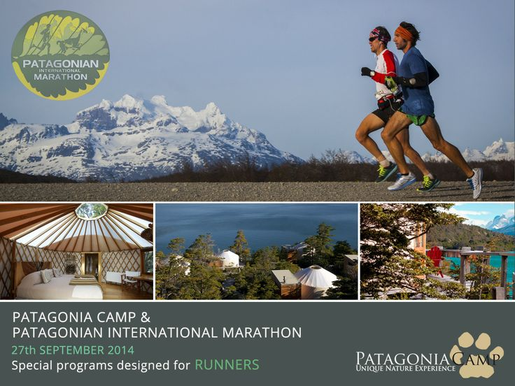 Wouldn't be nice to run in the 8th wonder of the world? Patagonia Camp invites you to be part of this great event running in and for Patagonia! Check our special programs! www.patagoniacamp.com