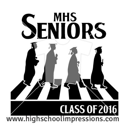 High School Impressions: Senior T-Shirts, Custom Student Council T Shirts, DECA, FBLA, High School Club TShirts - Create your own design for t-shirts, hoodies, sweatshirts. Choose your Text, Ink Colors and Garment.