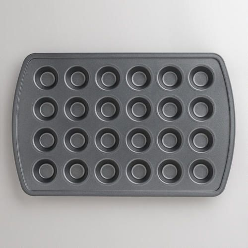 One of my favorite discoveries at WorldMarket.com: Metal Nonstick 24c Mini Muffin Pan