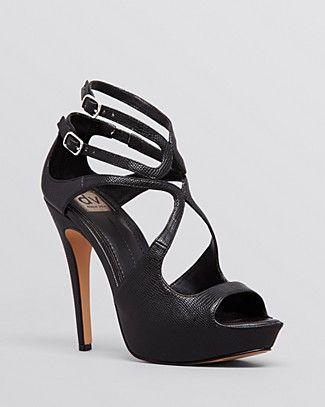 DV Dolce Vita Open Toe Platform Sandals - Brielle High Heel | Bloomingdale's